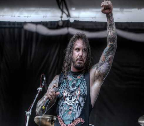 AS I LAY DYING: arrestato Tim Lambesis