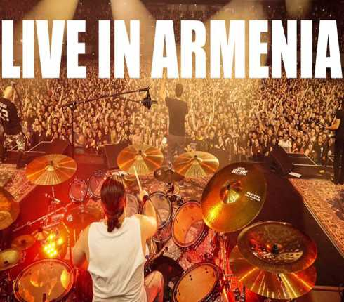 SYSTEM OF A DOWN: live (fenomenale) in Armenia